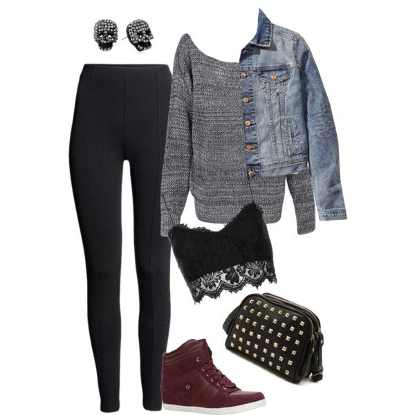 """""""Edgy Hanna Marin inspired concert outfit"""" by liarsstyle on Polyvore"""