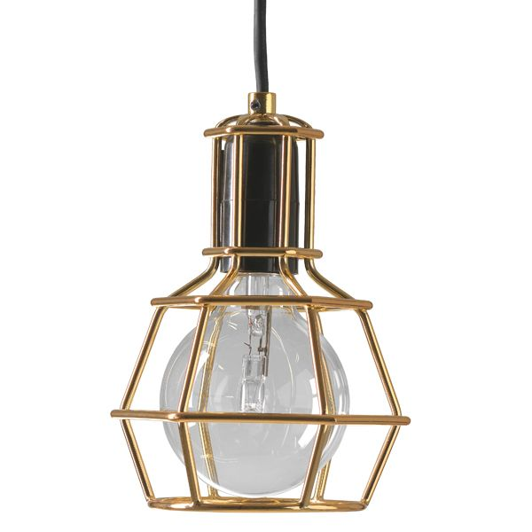 Work lamp, gold