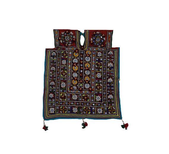 Vintage Banjara Handmade Neck Yoke Front Gypsy by MyCraftPalace