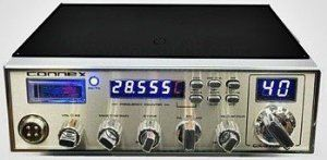 Connex 3300fhp 10 Meter Amatuer Radio w/ Frequency Counter by Connex. $202.99. 10 Watts AM Carrier     45 Watts AM PeP / FM     Operational TX/RX Frequency Range: 28.015~28.585     Small Meter with Scales for Signal Strength and Power Output     Dual Finals Allows for steady output power.     Blue/Green Transmit LED Indicates when radio is in recieve or transmit mode     Front Mounted Microphone Jack     Dual Stage Echo Control     Variable Talkback Control     Var...