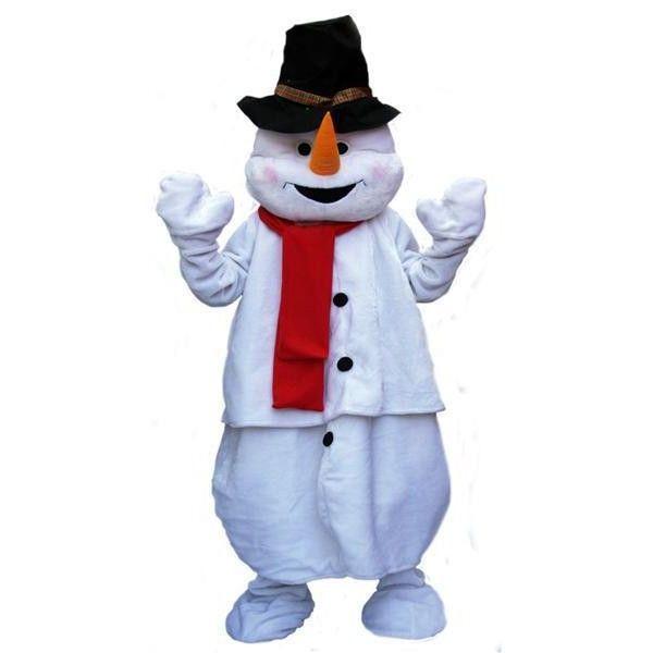 Grand ami du Père Noël, le bonhomme de neige se décline ici sous la forme d'un déguisement mascotte. Idéal pour une animation commerciale ou une soirée privée.