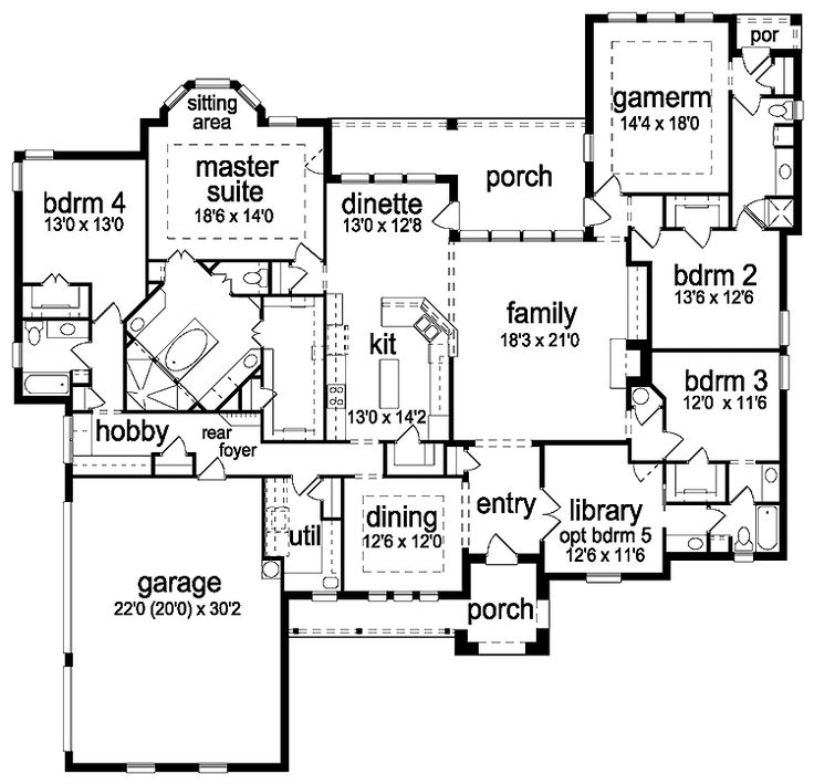 86 best house plans images on Pinterest