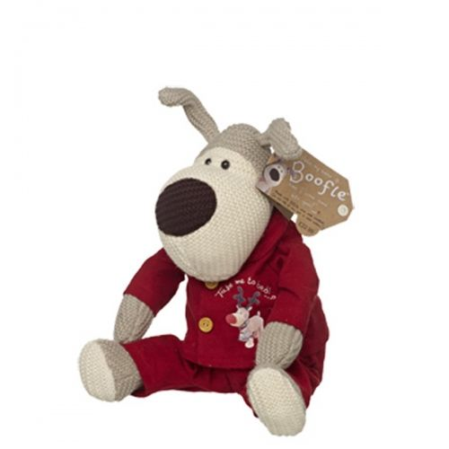 Boofle medium plush in roofle pyjamas