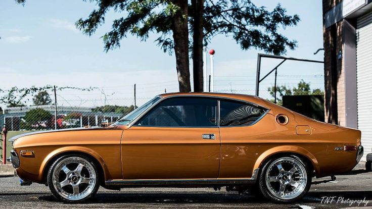 GOLD RX4 COUPE. LOVE IT!!!