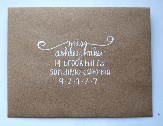 1000 Ideas About Cute Envelope Addressing On Pinterest