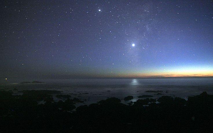 Lua ocultará o planeta Vênus no domingo, dia 8 | #Alinhamento, #Astronomia, #FenômenoAstronômico, #Lua, #Saturno, #Vênus
