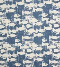 Made to Measure Sardines Fabric / Indigo