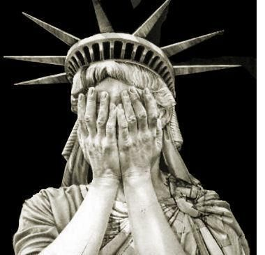 Crying statue of liberty, There is a lot to cry about  (lately) like the last 4 years!