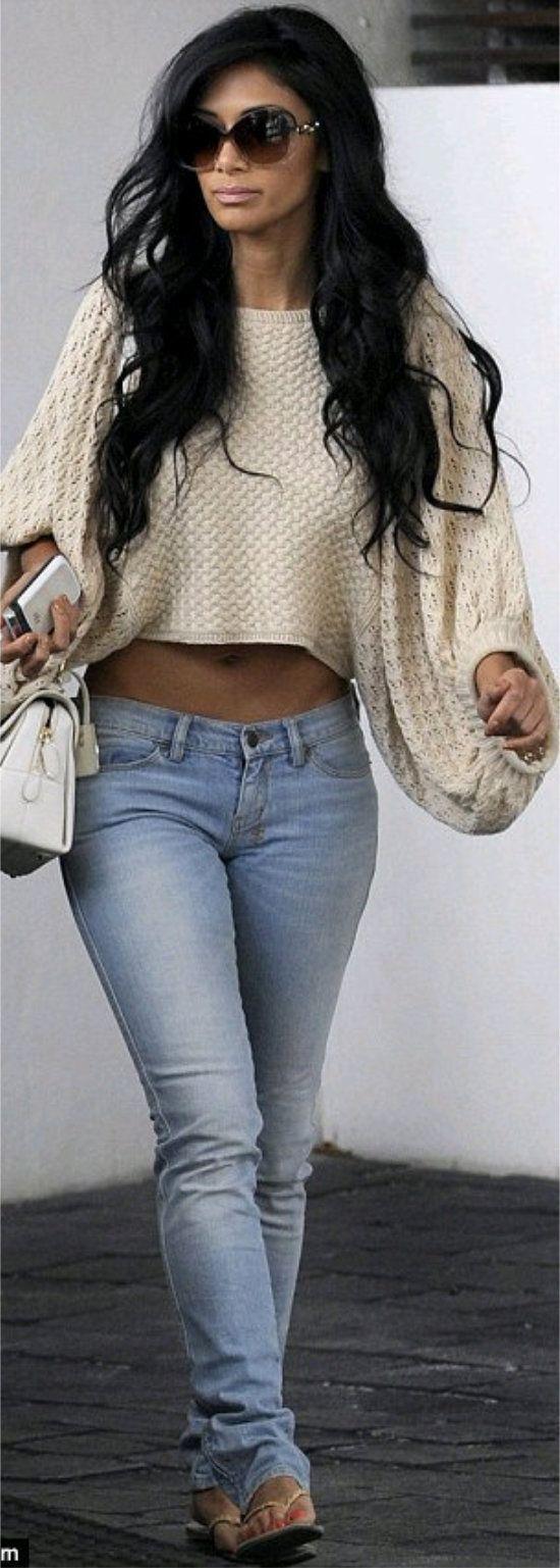 Nicole Scherzinger her outfit, body, hair #wc