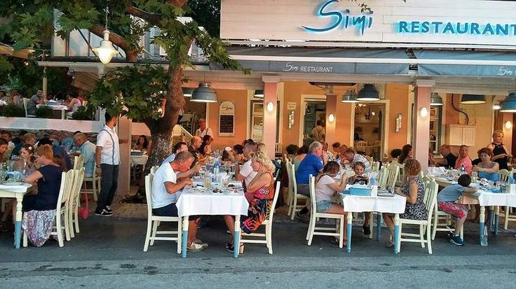 Simi Restaurant, Sea Food Restaurant, Limenas, Thassos - www.thassos-view.com