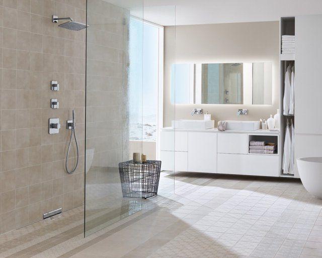 17 meilleures id es propos de paroi douche italienne sur for Douche italienne blanche