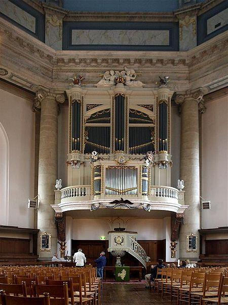 Middelburg Oostkerk binnen - 1782