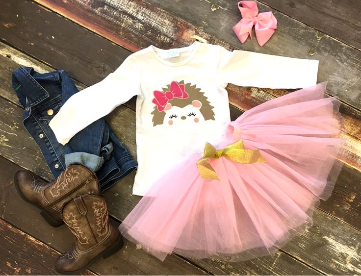 Porcupine Princess Tutu Set: on SALE for $15.30 with a share!