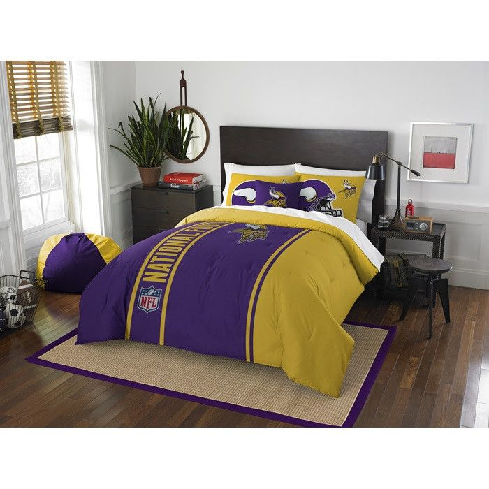Use this Exclusive coupon code: PINFIVE to receive an additional 5% off the Minnesota Vikings NFL Full Embroidered Comforter Set at SportsFansPlus.com