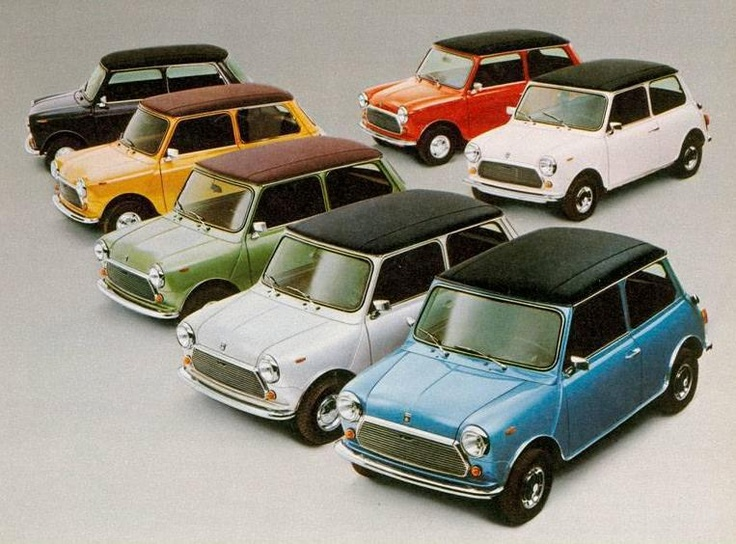 5 Million Strong. The classic Mini range in the UK, 1985.