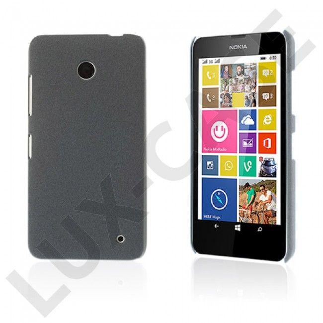 Grundsten (Grå) Nokia Lumia 630 / 635 Hard Plast Deksel