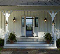 Bauernhaus Innenräume charakterisieren sich mit einfachen Details.Dieser bestimmt Amerikanische Stil erlebt ein..Interior Design im Landhausstil einrichten