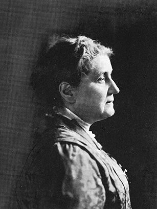 Jane Addams (1860-1935).  In grimy late 19th century Chicago, she pioneered the idea of settlement houses that offered night classes for adults, a kindergarten, a coffeehouse, a gym and social groups meant to create a sense of community among the downtrodden of the neighborhood.