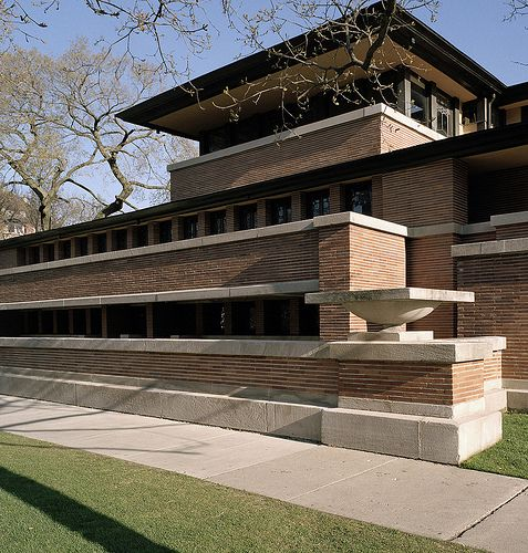 17 Best Images About Wright Frank Lloyd Robbie House On