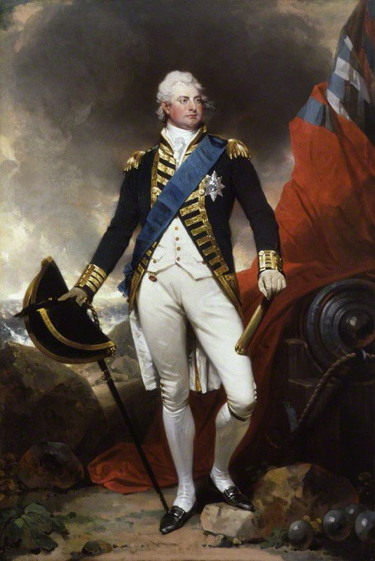 King William IV in naval dress uniform by Sir Martin Archer Shee, oil on canvas, circa 1800