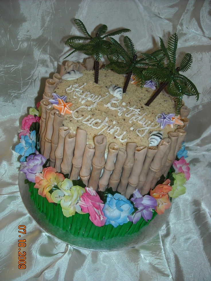 15 Best Tropical Cakes Images On Pinterest Luau