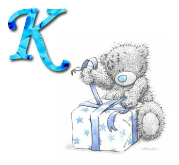 ●•‿✿⁀Tatty Teddy‿✿⁀•●   K is for ...