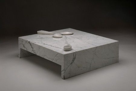 Marble Table by Omer Arbel.