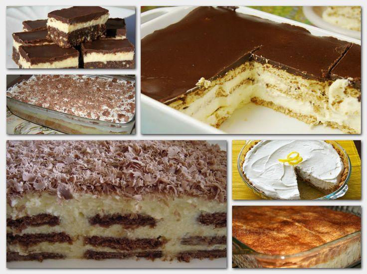 A 7 legcsodálatosabb sütés nélküli kényeztető finomság!