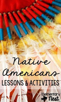 Native American lessons and activities for primary aged students- social studies activities