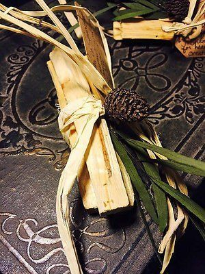 "Natural Palo Santo Aromatic Holy Wood Incense Sticks - Palo Santo is an aromatic wood used for thousands of years by Shamans and the ancient Incas for: healing, cleansing, blessings, creativity and good fortune.  Palo Santo is a mystical tree that grows on the coast of South America, in tropical and subtropical regions, and is considered closely related to Frankincense, Myrrh and Copal.  In Spanish, Palo Santo literally means ""Holy Wood""."