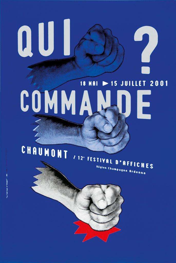 La Fabrique d'images, 2001 - International Poster and Graphic Design Festival / 19 posters since 1990