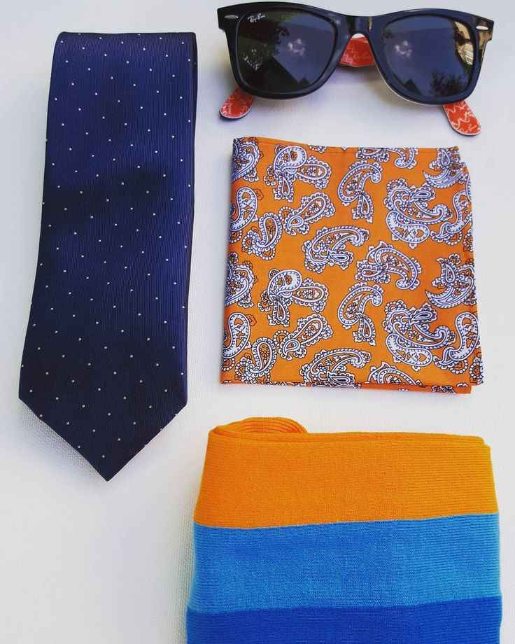 From our Blue Style Box: vertical striped sock, tie and pocket square! www.takeoutstyle.com  #whichcolourareyou #edc #mensfashion #yourstyleawaits #everydaycarry #yycstyle #canadafashion