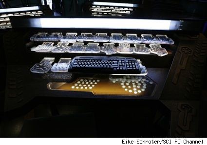 control panel bar display