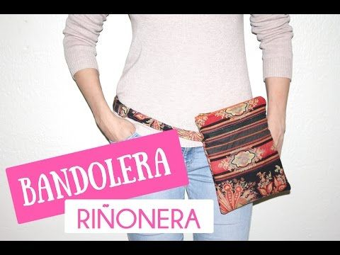 Tutorial #44 - Como hacer una Bolsita Bandolera - How to make a bag - YouTube