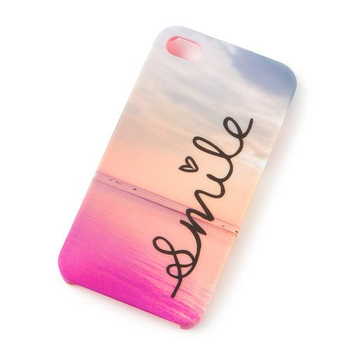 Beach Smile Cover for iPhone 4 and 4s   Claire's