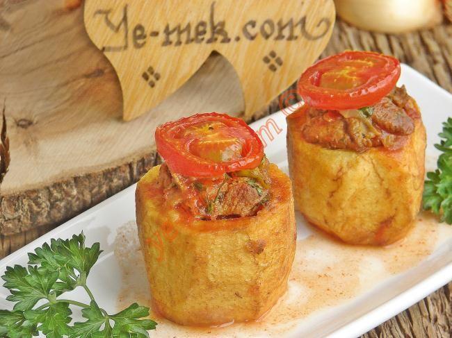 Etli Patates Dolması Resimli Tarifi - Yemek Tarifleri