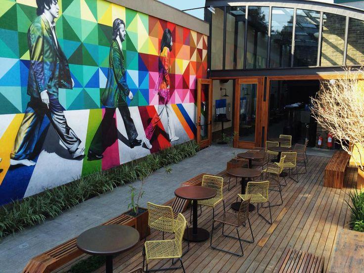 Decostore por São Paulo: High Line Vila Madalena - Bares em SP - Rooftop - Decoração de Bares - Bares Decorados - Tijolo Aparente - High Line NYC - #BlogDecostore