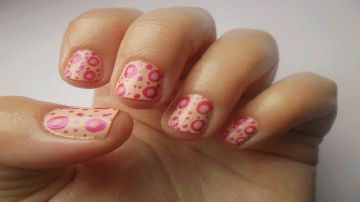Simply Nails ▎❝Fuschia dots❞