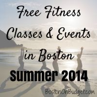 Free Fitness Classes & Events in Boston for Summer 2014 | Boston on Budget