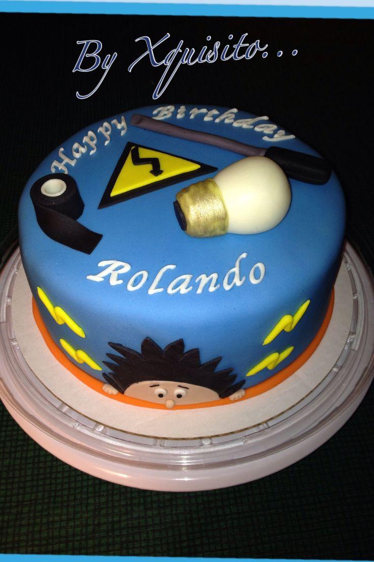 Electrician Birthday Cake