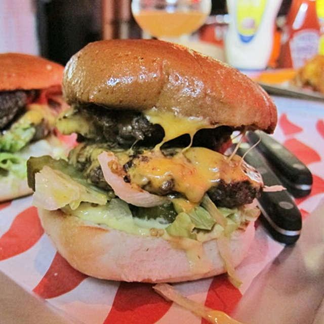 Favorite Burger in London.