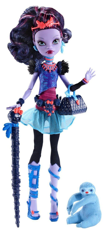 Amazon.com: Monster High Jane Boolittle Doll: Toys & Games