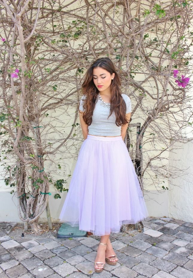 i want a purple one i might even change out of my pajamas sometime if i had a skirt like this <3333