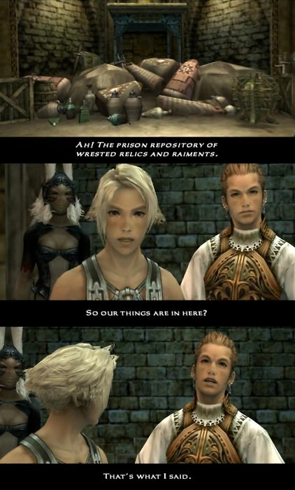 You are so good at alliteration and fancy words Balthier!