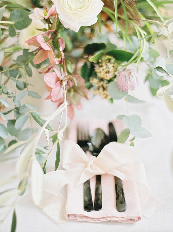 Brinkburn Northumberland Wedding Inspiration Shoot Table DecorationsWedding