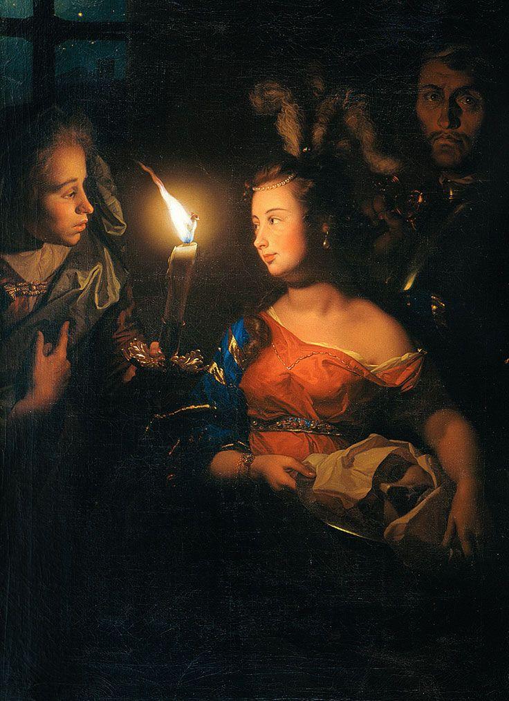 Godfried Schalcken • Salomé avec la tête de saint Jean-Baptiste, vers 1700