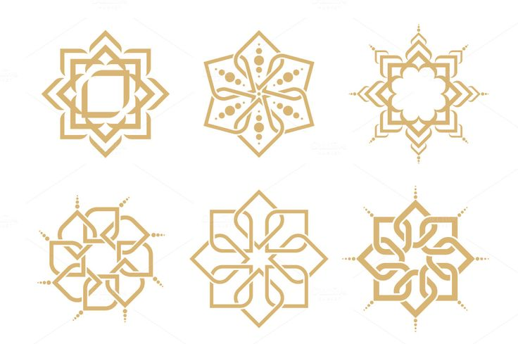 Arabic Patterns by Leone_v on @creativemarket