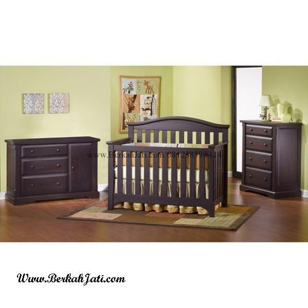 Jual Set Kamar Bayi Minimalis Box Bayi Baby Tafel desain Produk Minimalis dengan Bahan Kayu jati Solid yang Kuat dan Kokoh Berkualitas nyaman Untuk Bayi Bu