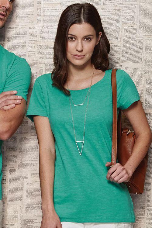 Tricou damă Sharon Stars by Stedman din 100% bumbac ring spun cu decolteu modern și larg #tricouri #personalizate #brodate #imprimate #serigrafie #promotionale