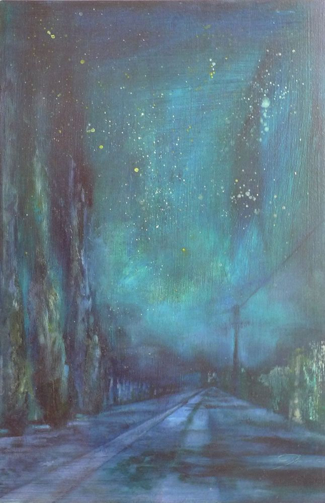 Hill Street Nocturne by Joanne Reen at StateoftheART